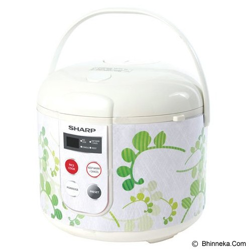 SHARP Rice Cooker Touch Panel [KS-T18TL] - Green